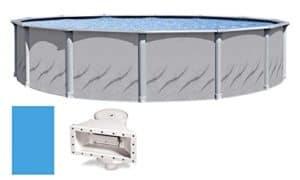 """Round GALERIA 15'x52"""" Above Ground Swimming Pool"""