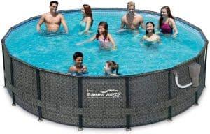 summer waves 16 foot round pool