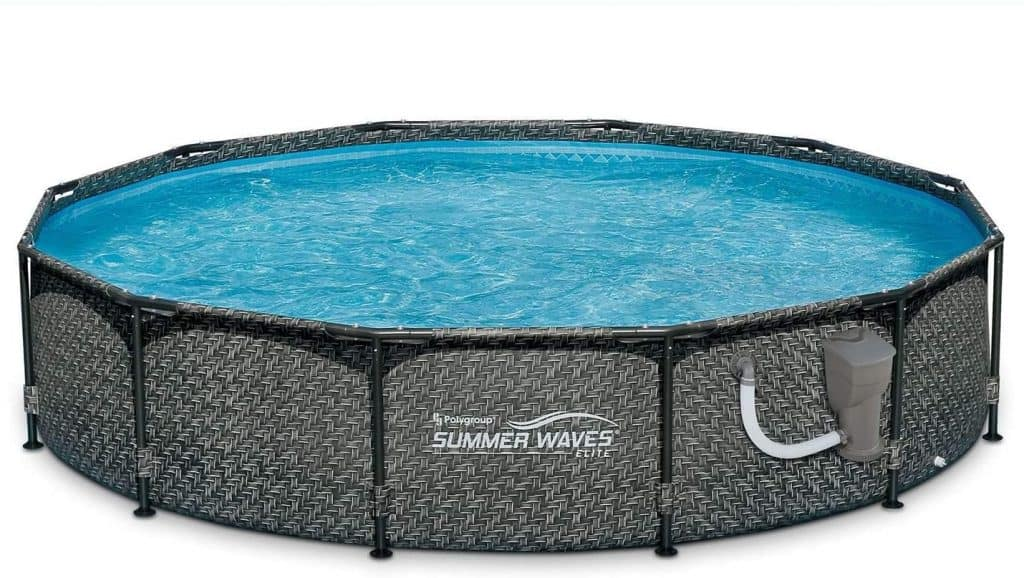 Summers Waves 12ft Round Above Ground Pool