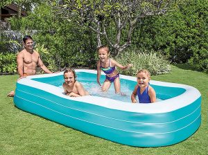 intex inflatable above ground pool