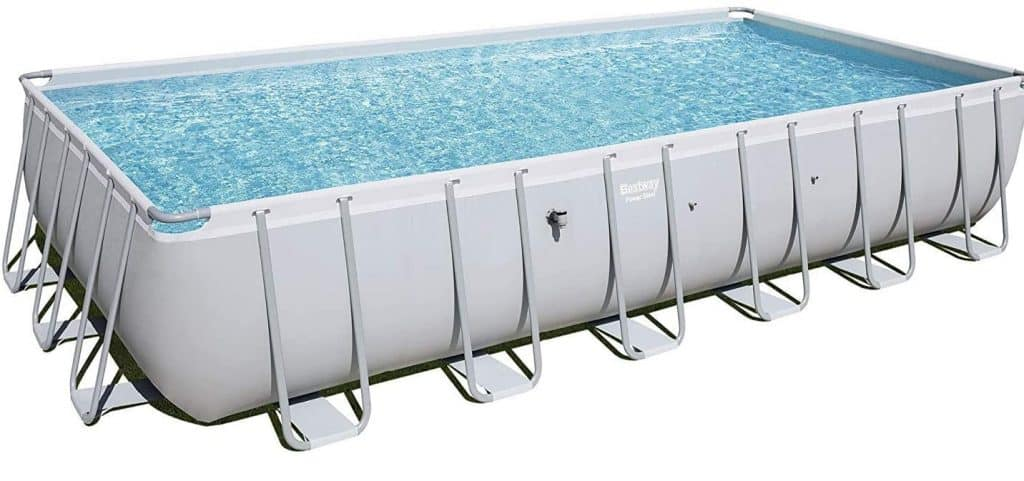 12x24 rectangle above ground pool