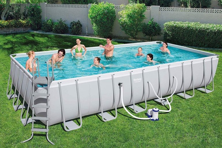 Bestway 24 ft rectangular above ground pool