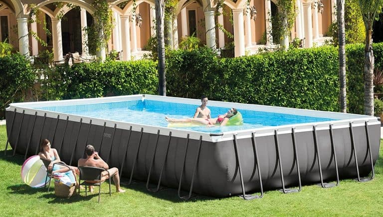 Intex 32ft best rectangular above ground pool