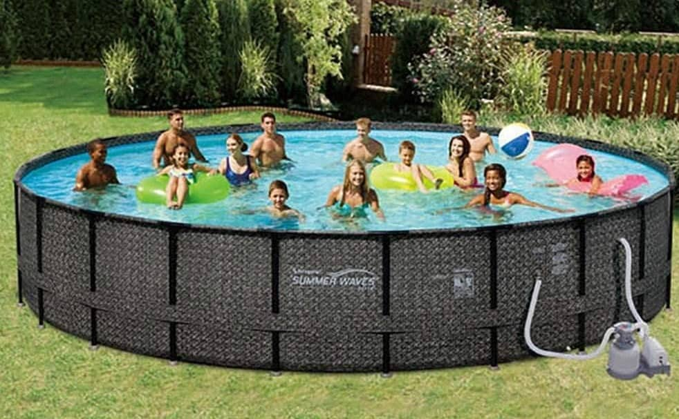 summers waves 24ft best deep above ground pool