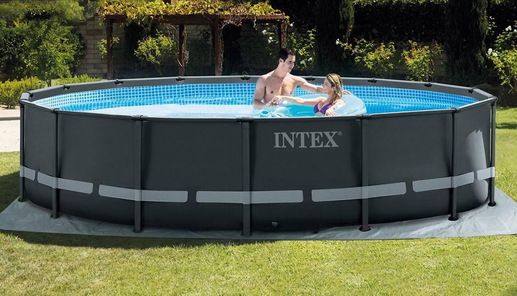 16ft intex pool